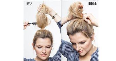 Eine voluminöse Frisur