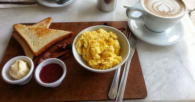 Rührei zum Frühstück