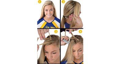 Die perfekte Frisur um Sport zu treiben!