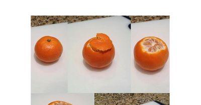 Der Orangen-Trick
