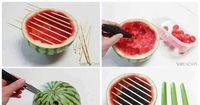 DIY: Der Melonengrill