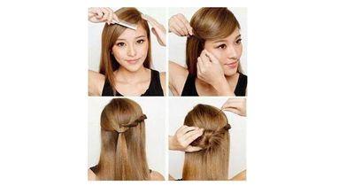 Wow, in nur 7 Schritten zu dieser außergewöhnlichen Frisur
