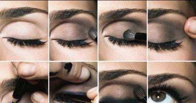 Perfekte Smokey-Eyes