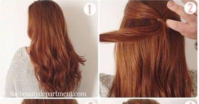 Atemberaubende Frisur - für besondere Anlässe