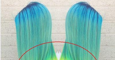 Der Regenbogen-Haartrend