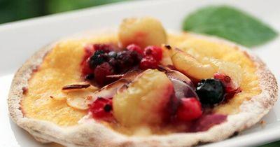 Fruchtpizza - der perfekte Sommersnack