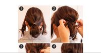 Die perfekte Sommer-Frisur für kurze Haare