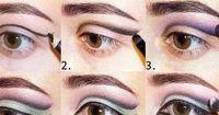 Verführerisches Augen-Make-Up