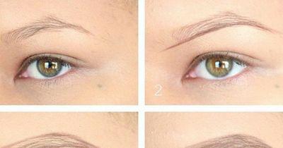 Augenbrauen richtig nachziehen