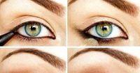 Klassisches Augen-Make-Up