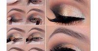 Goldener Look für dein Augen-Make-Up