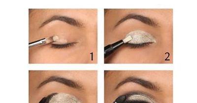 Augen elegant größer schminken