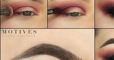 Atemberaubendes Augen-Make-Up