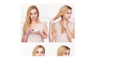 In nur 6 Schritten zu dieser besonderen Frisur: