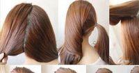 Eine ganz besondere Frisur in drei Minuten