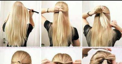 Schnelle Frisur mit Wow-Effekt