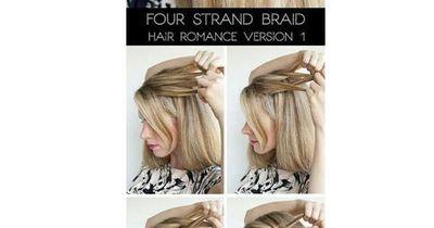 Die perfekte Frisur in nur einer Minute!