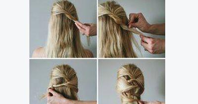 Diese glamouröse Frisur muss nicht geflochten werden!