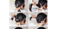 Die perfekte Frisur in nur einer Minute nachgemacht