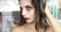 Last-Minute-Makeup für Halloween
