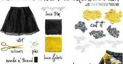 Dieses Fashion-DIY ist perfekt für Silvester