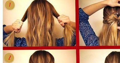 Diese Frisur ist perfekt für die Weihnachtszeit