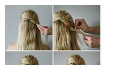 Eine besondere Frisur in nur 3 Minuten