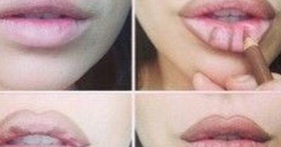 Mit diesem Trick deine Lippen enorm vergrößern!