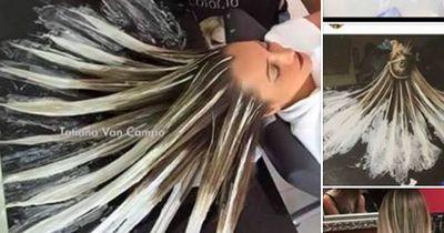 Was DA mit ihren Haaren PASSIERT, ist atemberaubend!