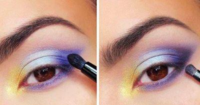 Glamouröses Make-Up