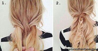 In nur 4 Schritten zu dieser besonderen Frisur!