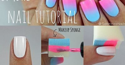 Ombré Nails in fünf Minuten