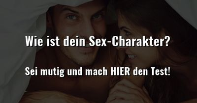 Wie ist dein Sex-Charakter?