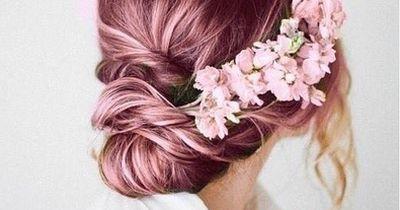 Mache deinen eigenen Blumen-Haarschmuck!