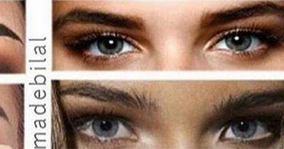 Ist DAS der neue Augenbrauentrend?