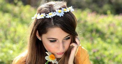 Wunderschönes Frühlings-Make-up