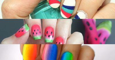 Die drei schönsten Sommerdesigns für eure Nägel