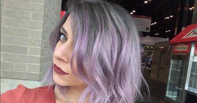 """Das ist der neue Haar-Trend """"Smokey Lila"""""""