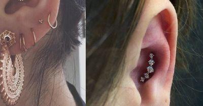 An diesen Stellen kannst du dein Ohr piercen