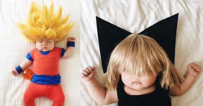 Im Schlaf erlebt dieses Baby Unglaubliches