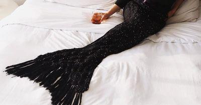 Jeder will sie haben: Die Mermaid-Kuscheldecke