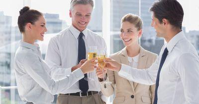 Alkohol auf der Arbeit? Auf jeden Fall!