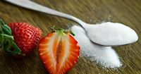 Honig und Obst als Alternative zu normalem Zucker