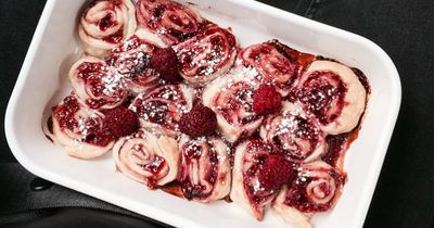 Iss dich mit Pudding-Himbeer-Schnecken in den Food-Himmel