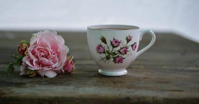 Mit Nagellack kannst du eine wunderschöne Tasse designen!