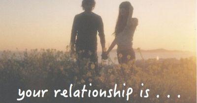 Welches Wort beschreibt deine Beziehung?