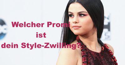 Welcher Promi ist dein Style-Zwilling?