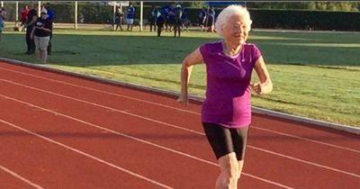 Diese 101-Jährige rennt für Wettkämpfe