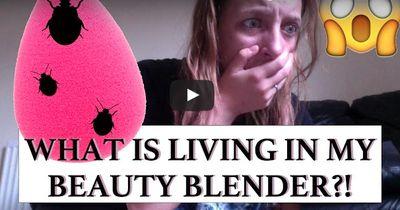 Horror-Fund: Das befindet sich in deinem Make-up-Schwamm